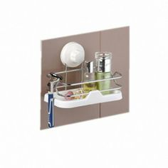 eFashion Wall Bathroom Shelf Rack Kitchen Bar Storage Organizer with Suction by Shenzhen eFashion Science & Technology Limited. $24.99. Elegant looking and durable structure. Helps keep your household accessories in place. Leaves your space vanity clear and organized. Creates a tight vacuum hold to stop accidental releases. Features: Helps keep your household accessories in place Leaves your space vanity clear and organized Elegant looking and durable structure Wh...