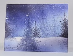 Snowstorm collage by Heather T - Cards and Paper Crafts at Splitcoaststampers