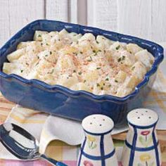 Creamed Potatoes Recipe -These melt-in-your-mouth potatoes, in a mild creamy sauce, complement any meat entree, and they're a pleasant change from mashed or baked. -Susan Ormond, Jamestown, North Carolina