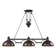 I love this product from Whispar Design! Farmhouse Island Light Fixture - Whispar Design. Not sure if I can mix the bronze with nickel, but I love the fixture!?