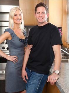 Flip or Flop host Christina & Tarek El Moussa. My new favorite couple. @Christina Mathews Have you seen this show??