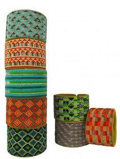 Cuff bracelets By Guanábana handmade
