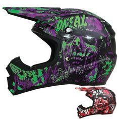2015 Oneal 5 Series Warhead Dirt Bike Off-Road ATV Quad Gear Motocross Helmet