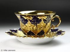 German Meissen cup and saucer
