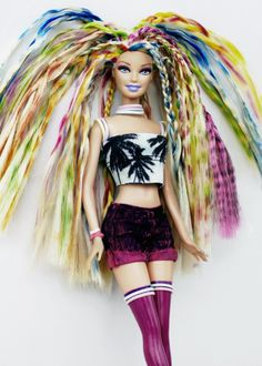 Suggesting Barbie you stick to the Malibu look not this Banjee look