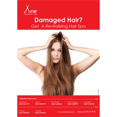 Has Too Much Styling Damaged Your Hair? Pamper them over the weekend with our rejuvenating hair spa.