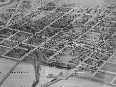 Map of old Cobourg, Ontario