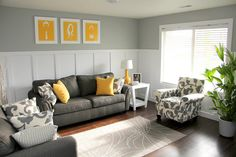 Pretty Couches and almost Not Couch-less | Chris Loves Julia