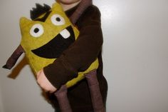 Felt Monster Pattern EASY by emmersward01 on Etsy