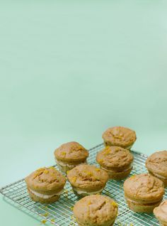 Carrot-Cake Muffins With Salted Caramel Filling #refinery29