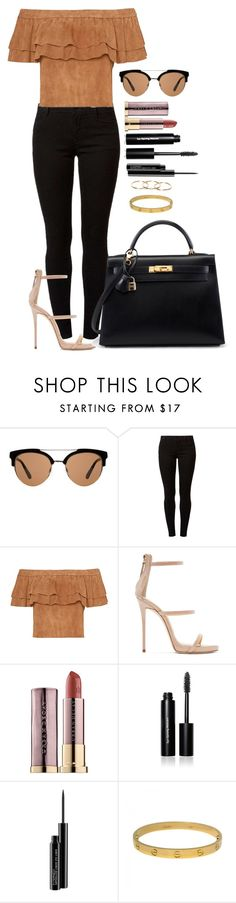 """Untitled #1526"" by fabianarveloc on Polyvore featuring MANGO, Dorothy Perkins, Giuseppe Zanotti, Urban Decay, Bobbi Brown Cosmetics, MAC Cosmetics and Cartier"