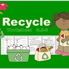 Recycle Worksheet  Subtopics: 1. What is your waste made of? 2. How long time does each material decompose? 3. What is the meaning of 5Rs? 4. What ...