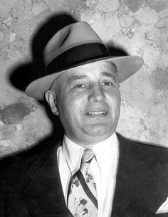 """Guarino """"Willie"""" Moretti. Famous NJ mobster under Frank Costello and Lucky Luciano. True fact: This gangster my grandfather did have a relationship with - they were so close, my uncle and dad called him Uncle Willie."""