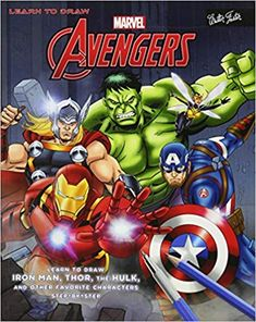 f3b3b86eed1 Amazon.com  Learn to Draw Marvel s The Avengers  Learn to draw Iron Man