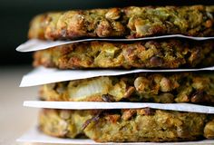Gluten free: curried egfplant + quinoa burgers - With Style and Grace