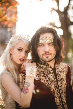 Circlet Vampire Royalty Wedding · Rock n Roll Bride Vampire Wedding, Gothic Wedding, Royalty Wedding Theme, Goth Club, Brides 2017, Alternative Bride, Black Wedding Dresses, Dance Fashion, Wedding Inspiration