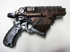 Nerf Vortex Movie Prop Gun 10 Disc Gun Blaster Steampunk in The Box Rifle Steampunk Movies, Steampunk Weapons, Steampunk Fashion, Nerf Mod, Movie Props, Crafty Craft, Cool Things To Buy, Retro Vintage, Guns