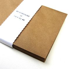 100 Briefumschläge C6   ♥ Kraftpapier