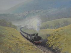 Neath & Brecon Railway by Richard Picton    A GWR pannier tank on the Neath & Brecon Railway near the village of Cilfrew in South Wales.