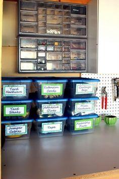 garage organization by terry
