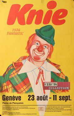 Fantastic était en 1974 le titre du spectacle du cirque National Suisse Knie avec en vedette les Chickys.