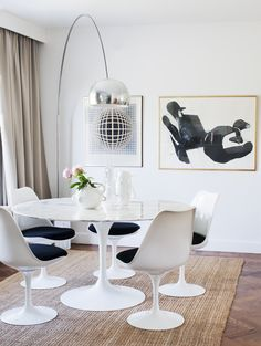 Saarinen Tulip Chair and information on cheap knock-off