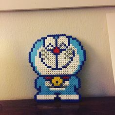 Doraemon hama beads by stifflol