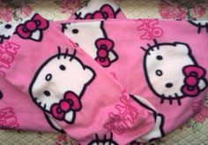 #Hello kitty #sleeved #snuggle blanket,  View more on the LINK: http://www.zeppy.io/product/gb/2/181888973034/