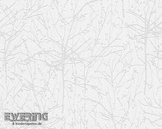 AS Creation Esprit 10 8-95848-1_L creme Äste-Muster Vlies-Tapete