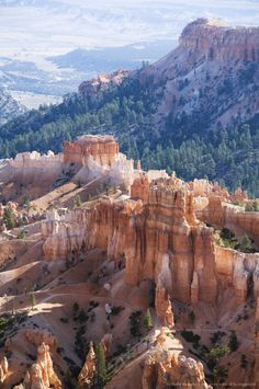 Bryce Canyon National Park, Utah - The Bryce Canyon area was settled by Mormon pioneers in the 1850s and was named after Ebenezer Bryce, who homesteaded in the area in 1874.
