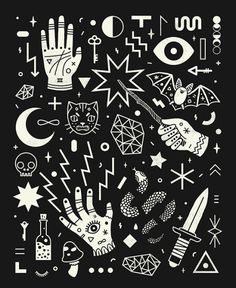 lordofmasks: Witchcraft by Camille Chew Illustration Photo, Graphic Illustrations, Wow Art, Flash Art, Book Of Shadows, Dark Art, Witchcraft, Artwork, Sketches