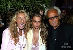 Launch of Charlotte Ronson's Fall Ad Campaign. Photo: Rick Mackler / Rangefinders / Globe Photos Inc 2003 10/16/2003 Ann Jones, Charlotte Ronson and Mick Jones