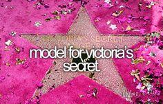 Model for Victoria's Secret...