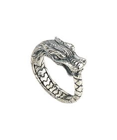 Look what I found on #zulily! Sterling Silver Woven Dragon Ring #zulilyfinds