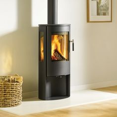 A timeless wood burning stove