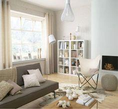 16 idées avec la couleur lin pour le salon | Salons