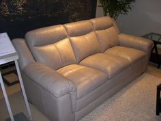 HTL Leather Sofa - Attention to detail paired with superb style.
