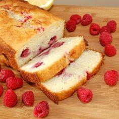 Raspberry lemon loaf. emistrzak