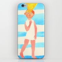 Summer girl iPhone & iPod Skin