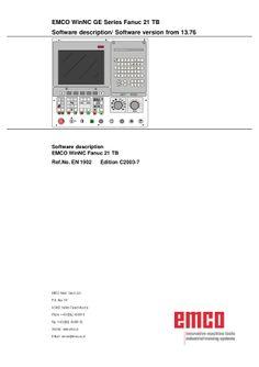 CNC Manual - CNC Machine Manuals PDF Download Read Online http://cncmanual.com/ cnc router cnc training cnc machine cnc lathe training cnc training courses