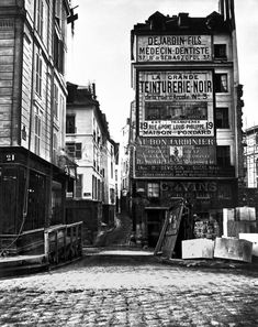 Rue de la Colombe Paris 1858 - Charles Marville Prints - Easyart.com