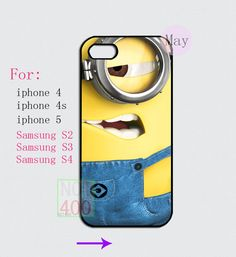 May the new iphone case Samsung  case - Despicable Me  for iphone 4 4s 5 case samsung galaxy s2 s3 s4 case on Etsy, $7.90