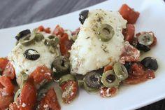 Filetto di rana pescatrice con olive e pomodorini - di Monica Cazzaniga #fuudly #ricette