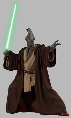 Coleman Trebor - Jedi master and member of the Jedi Council During the Attack of the Clones. He was Killed by Jango Fett in attempt to assassinate Count Dooku.