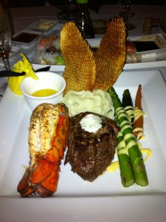 surf and turf @ Firefly