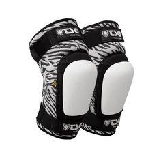 TSG Roller Derby Kneepads (VEP) - Zebra