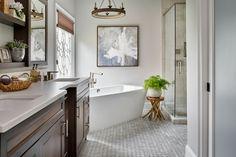 Bathroom Flooring, Kandrac and Kole Interiors
