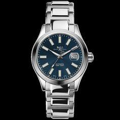 Ball Watch Engineer II Marvelight #watch #Ball #Blue