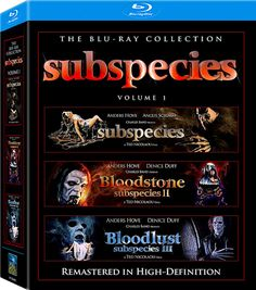 SUBSPECIES BLU-RAY COLLECTION SET VOLUME 1 (FULL MOON)