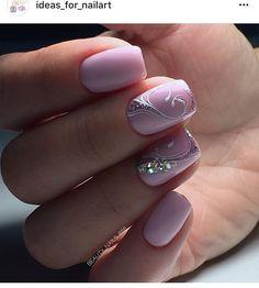 and Beautiful Nail Art Designs Elegant Nails, Stylish Nails, Fancy Nails, Bling Nails, Beautiful Nail Designs, Beautiful Nail Art, Fabulous Nails, Gorgeous Nails, Nagellack Design